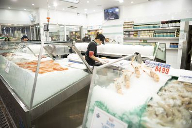 Sydney Fish markets will be operating over the Easter weekend with increased health meassures implemented to prevent the spread of coronavirus