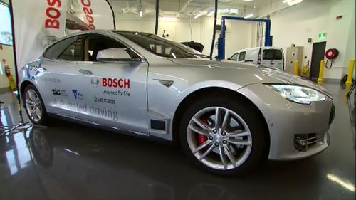 Melbourne-designed self-driving car to be tested on public roads