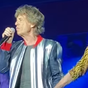 Mick Jagger emotional on stage after tribute to late drummer