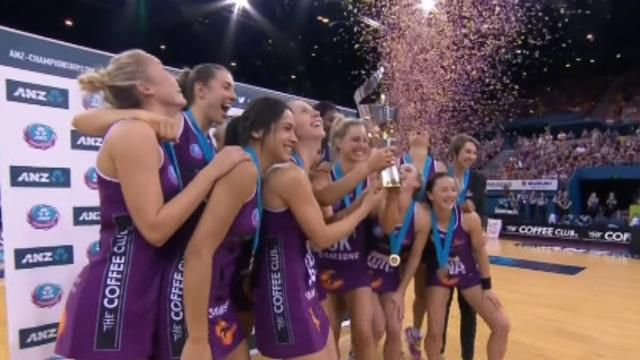 Queensland Firebirds win thrilling extra-time grand final