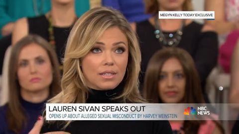 Lauren Sivan speaks out about Harvey Weinstein