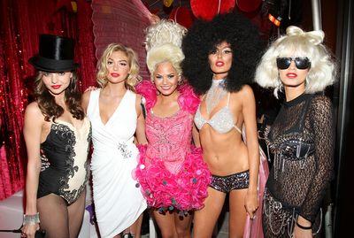Miranda Kerr, Kate Upton, Chrissy Teigen, Nicole Trunfio andJaslene Gonzalez, 2011