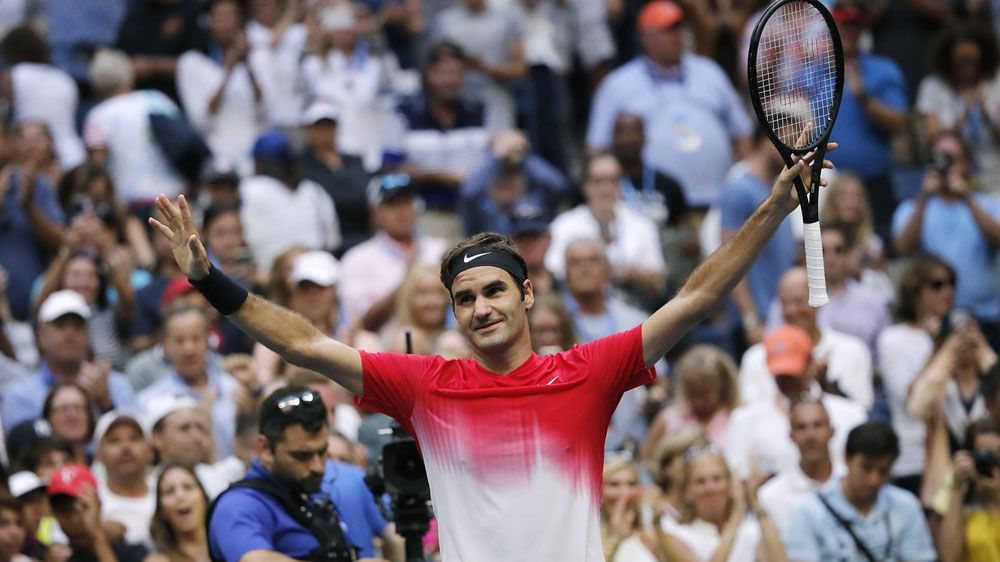 US Open: Roger Federer needs five sets to beat Youzhny for 17th time
