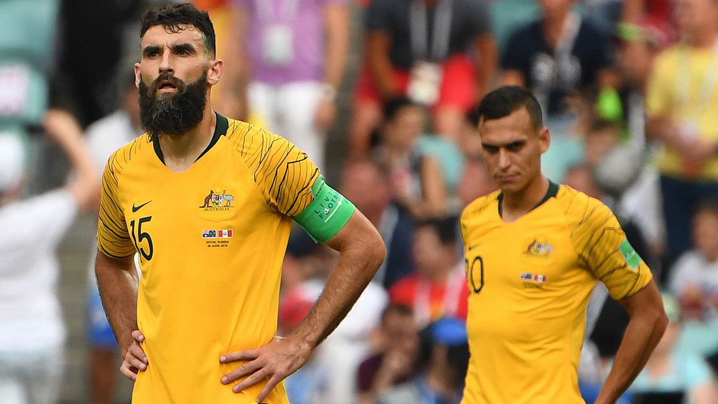 Socceroos knocked out of World Cup following 2-0 loss to Peru