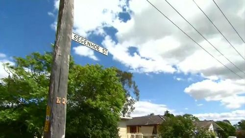 The toddler was hit by a car reversing on Segenhoe Street in Woodberry. (9NEWS)