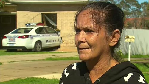 Dianne Moyle, who also lives in the street, said she saw the patrol vehicle travelling so fast, it managed to become airborne.