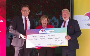 Daniel Morcombe Foundation wins Lotto with $300,000 pledge