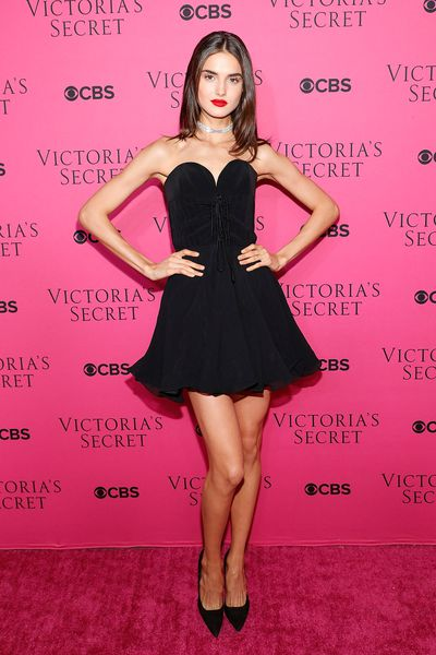 Blanca Padilla at the Victoria's Secret viewing party in New York.