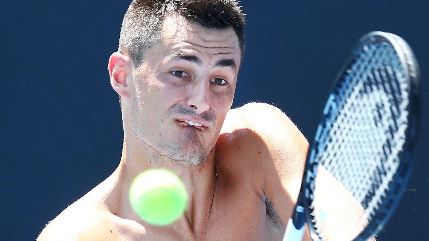 Bernard Tomic lashes new Australian Open tennis balls