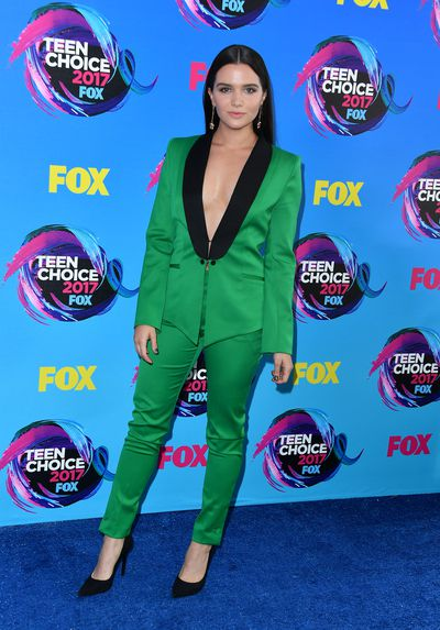 Katie Stevens in Styland at the 2017 Teen Choice Awards, LA