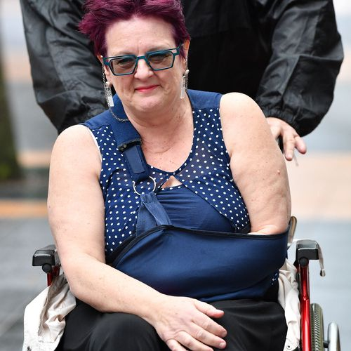 Justine Wilkinson said her daughter Caitlin Wilkinson Whiticker, 18,  was left with 'nothing' after Brisbane's Barrett Centre was closed.