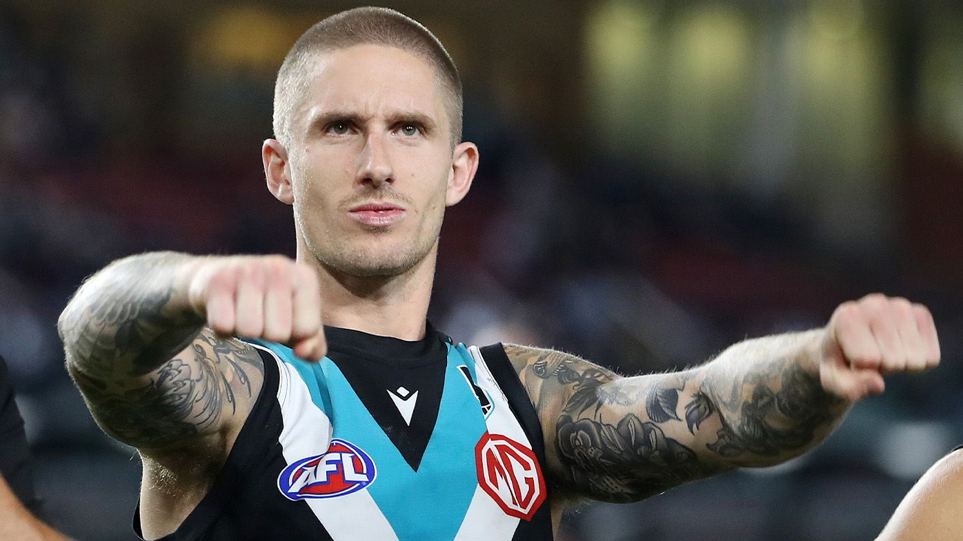 'Nothing but love for the club': Unwanted Port Adelaide cult figure Hamish Hartlett harbouring no bad blood