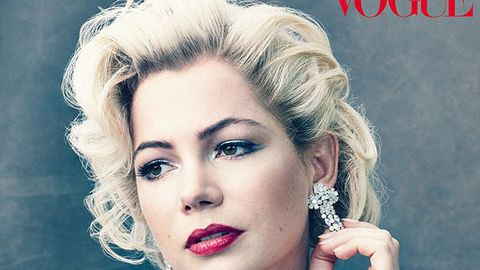 Michelle Williams poses as Marilyn Monroe, opens up about Heath Ledger's death