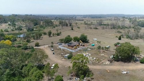 Earthworks at the 1800 hectare site will begin by the end of the year. (9NEWS)