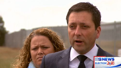 Matthew Guy today made the cost-effective pledge for a prison in Lara.