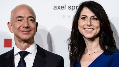 Bezos, 54, and MacKenzie, 48, met and got married while working at D.E. Shaw, a New York-based hedge fund, in the early 90s.