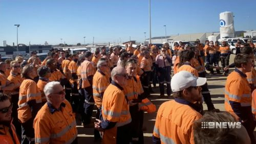 Hundreds of workers have been told to pack up and go home as ECM went into voluntary administration.