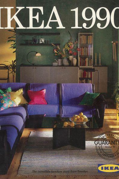 IKEA catalogue purple lounge