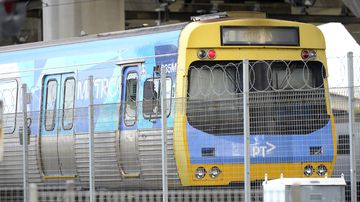 Melbourne's train network has ground to a halt. (AAP)
