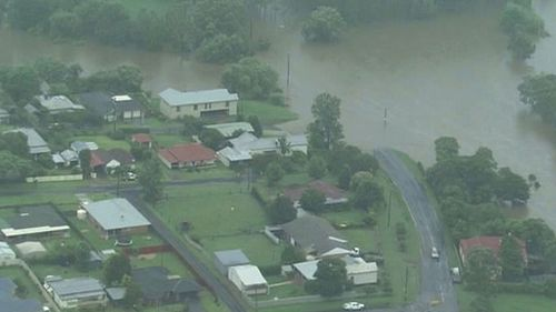"""Dungog was flooded by an """"entirely unpredicted"""" weather anomaly."""