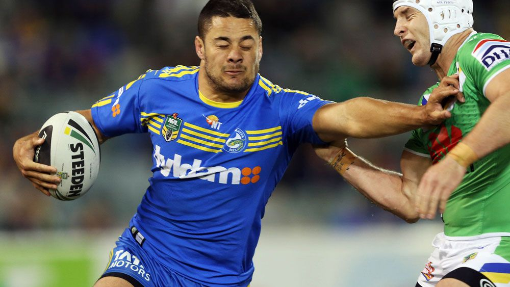 Peter Sterling does not expect Jarryd Hayne to play for Parramatta Eels again