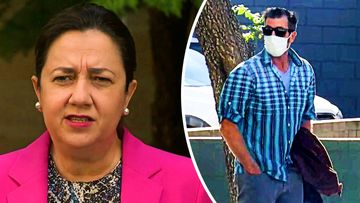 A Nerang man accused making threats to Queensland Premier Annastacia Palaszczuk and Chief Health Officer Jeannette Young has pleaded not guilty.