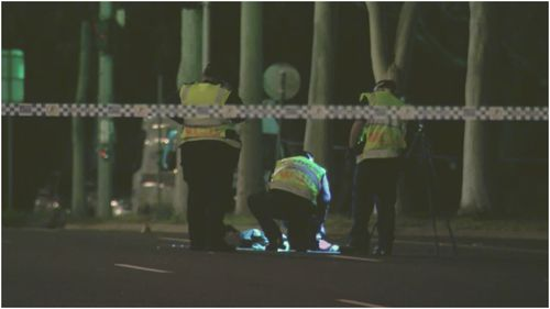 Police are looking for a driver after a woman was hit and killed by a car in Clayton last night.