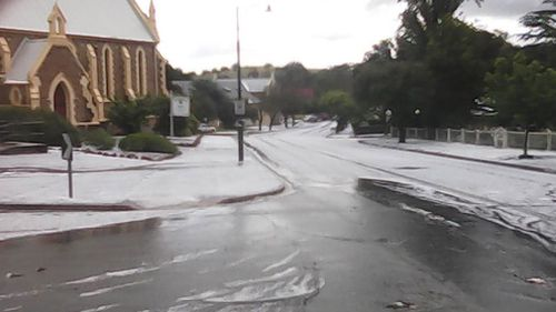 Aussies can expect a bitter winter throwback. Parts of Adelaide received hail on Monday.