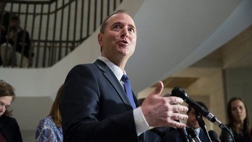 The committee's top Democrat, California Representative Adam Schiff, criticised Trump for treating the two documents differently. (AAP)