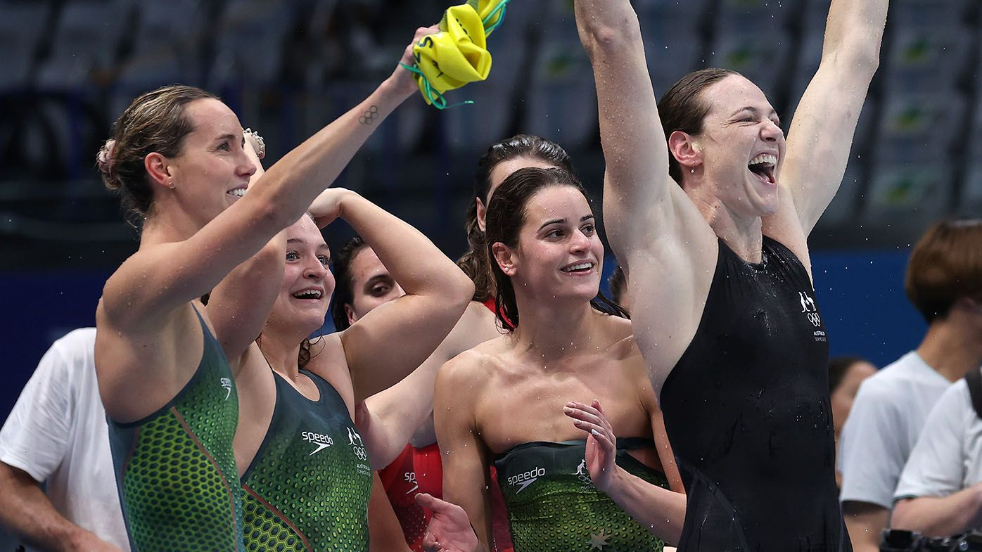 Olympic history rewritten as Aussies win relay gold
