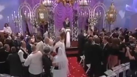 Watch: Gay couples marry in TV wedding!