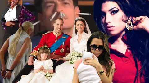 2011's top 20 celebrity stories