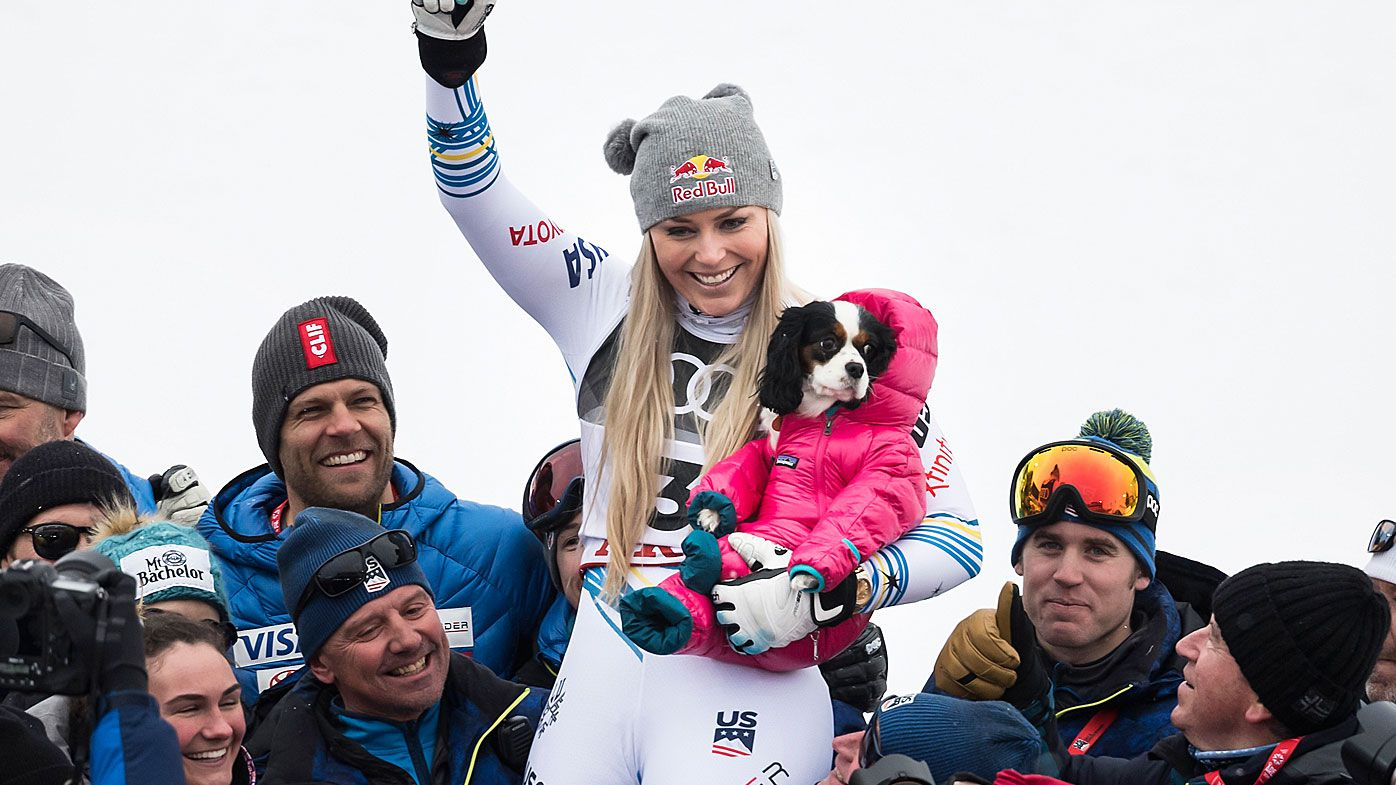 Lindsey Vonn of the USA