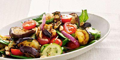 Shanghai eggplant salad
