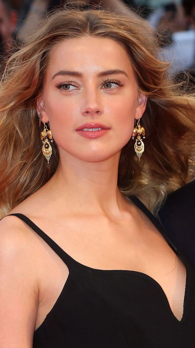 Amber Heard at the screening of <em>Black Mass</em>.
