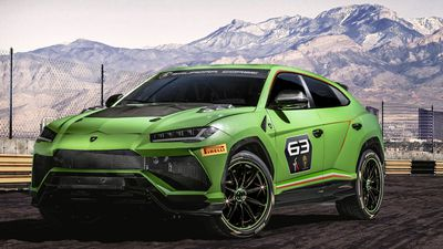 Lamborghini unveils new racing SUV