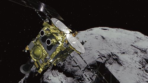 Japan asteroid probe makes 'tantalising' solar system discoveries