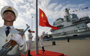 Second Chinese aircraft carrier 'ready for service' as superpowers hold crisis talks