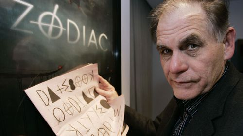 """Robert Graysmith, author of """"Zodiac"""" and """"Zodiac Unmasked, which inspired the Hollywood movie on the killings."""