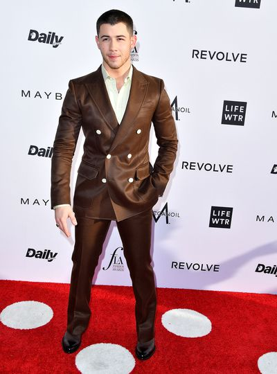Nick Jonas in Bally.