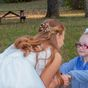 Beautiful moment little girl mistakes bride for Cinderella