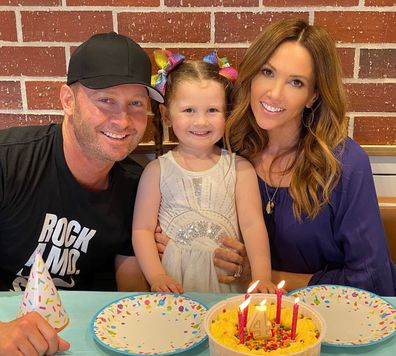 Michael Clarke, Kyly Clarke, daughter Kelsey Lee, photo, Instagram