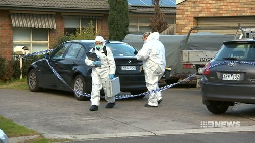 It's alleged Mr Vu drove a knife into his partner and lover's chest at a Sunshine West home.