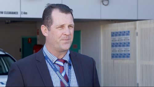 Detective Senior Sergeant Luke Peachey said the man was found with serious head injuries.