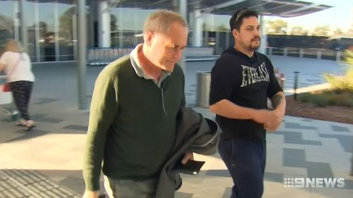 Joshua's father Terry has taken aim at his son's employer. Picture: 9NEWS