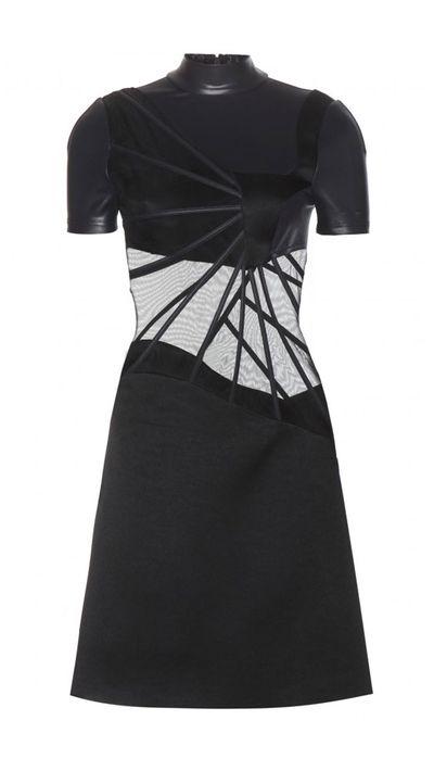 "<a href=""http://www.mytheresa.com/en-au/turtle-neck-dress.html#"">Turtleneck Dress, $3,095, Christopher Kane</a>"