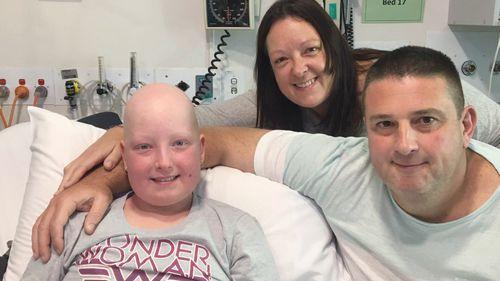 Young Jade Gallard has been battling leukemia for 18 months.