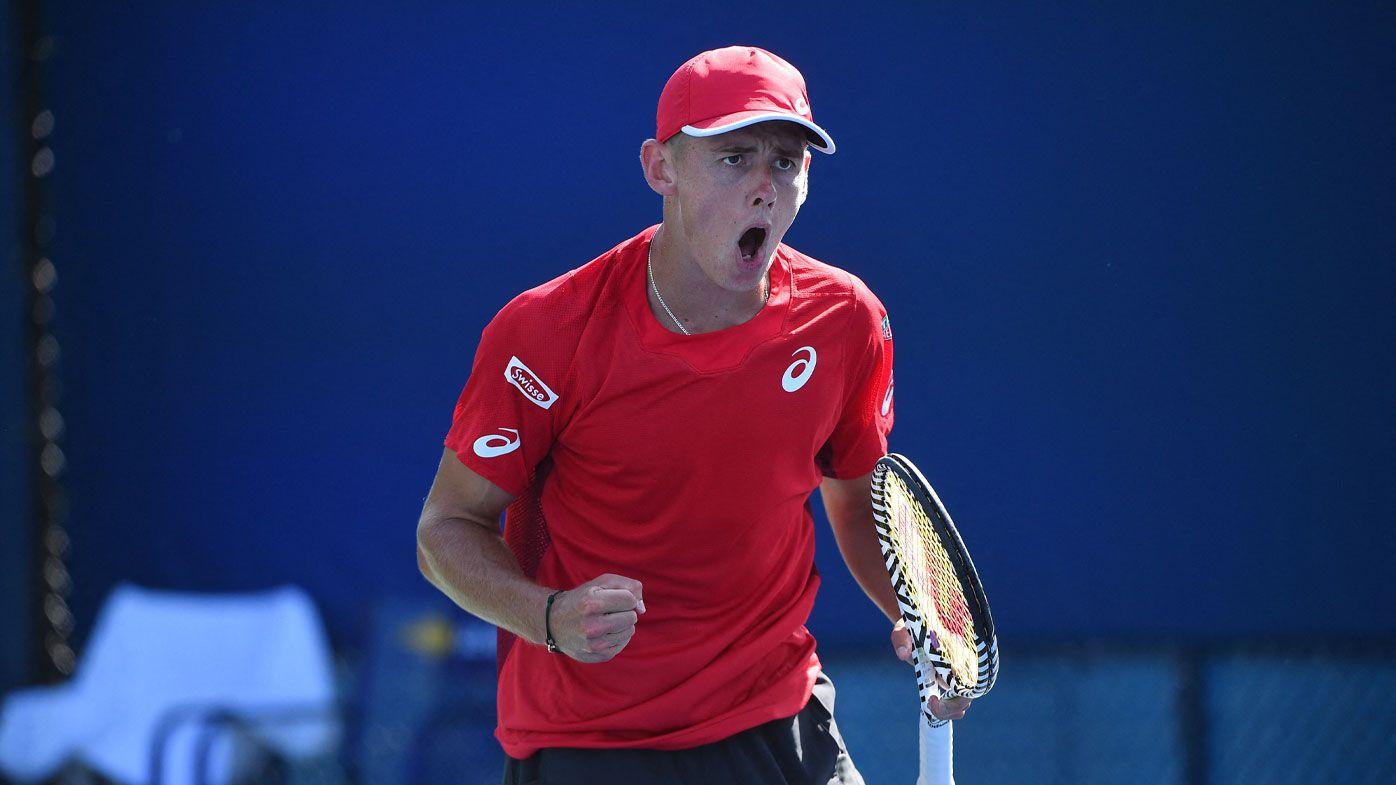 De Minaur wins his first round US Open encounter