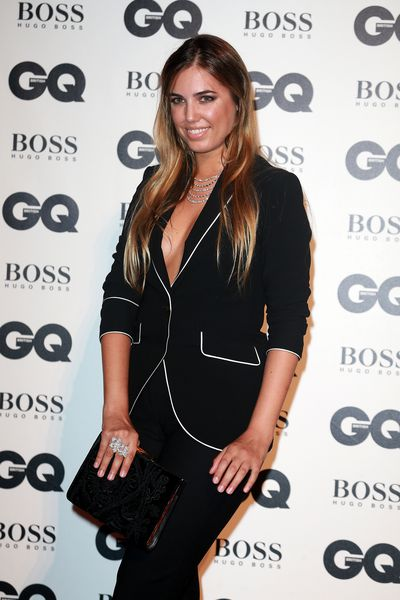 Amber Le Bon at the British GQ Men of the Year Awards