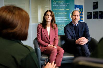 The couple visited coronavirus front-line workers in London on Thursday.